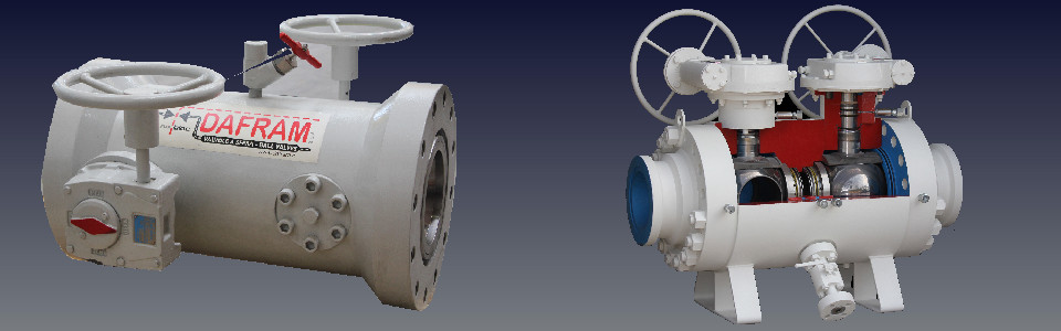 TWIN BALL DB&B VALVES