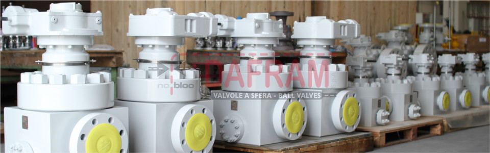 TOP ENTRY BALL VALVES FOR SPECIAL APPLICATIONS AS:
