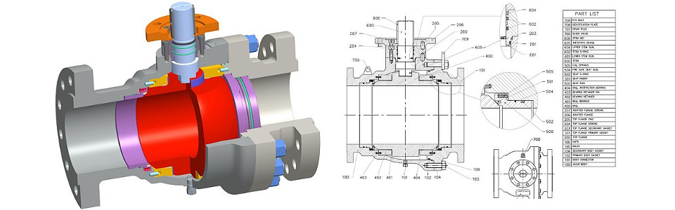 Trunnion Tipo D