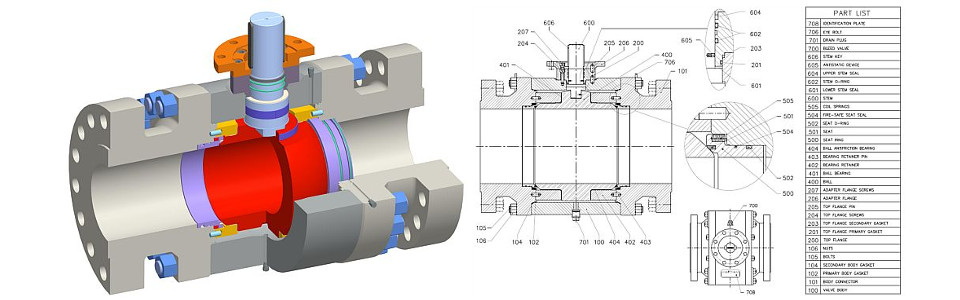 Trunnion Type P